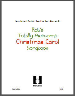 Rob's Totally Awesome Christmas Carol Songbook