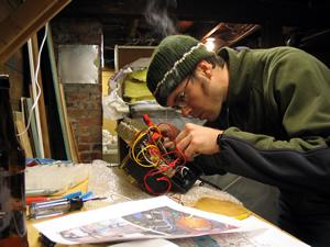 Rob soldering